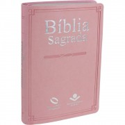 BIBLIA NA SAGRADA MISSIONARIA SLIM CP SINT - ROSA