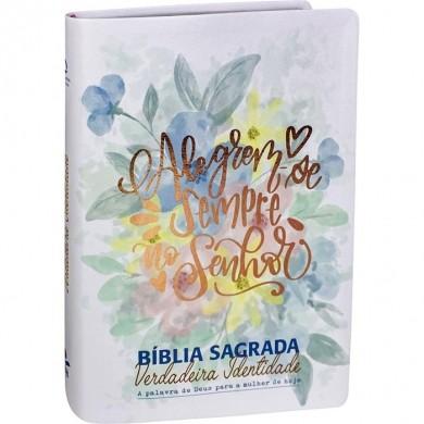 BIBLIA NA SAGRADA VERDADEIRA IDENTIDADE - BRANCA FLORES