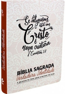 BIBLIA NA SAGRADA VERDADEIRA IDENTIDADE - IMPRESSA LETTERING