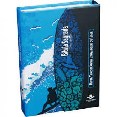 BIBLIA NTLH043LMFB CAPA DURA COM ABAS - SURF