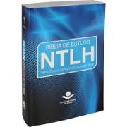 BIBLIA NTLH DE ESTUDO CP BROCHURA - ILUST AZUL