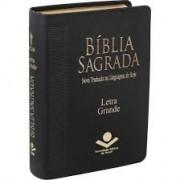 BIBLIA NTLH LETRA GRANDE CP COURO SINT - PRETA