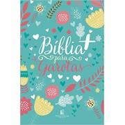 BIBLIA NTLH + PARA GAROTAS - TECIDO