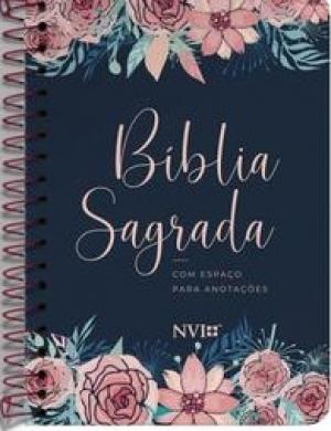 BIBLIA NVI ANOTE ESPIRAL CLASSICA - ROSAS