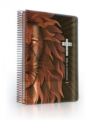 BIBLIA NVI ANOTE ESPIRAL CP DURA - LEAO
