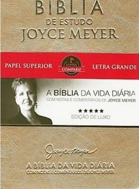 BIBLIA NVI DE ESTUDO JOYCE MEYER - DOURADA
