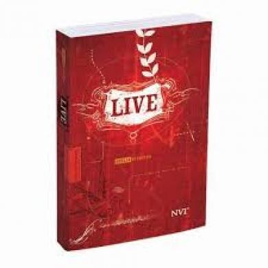 BIBLIA NVI DE ESTUDO LIVE CP LUXO - VERMELHA