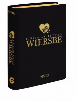BIBLIA NVI DE ESTUDO WIERSBE - PRETA