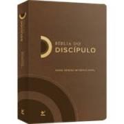 BIBLIA NVI DO DISCIPULO CP LUXO - MARROM