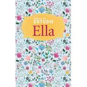 BIBLIA NVI ELLA DE ESTUDO CONCISO CP DURA - ESPECIAL FLORAL