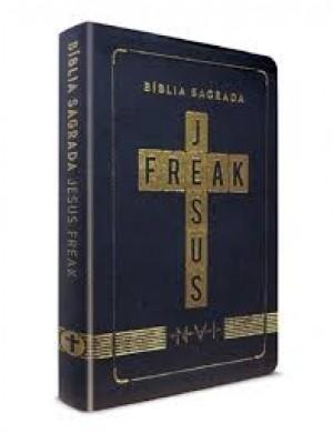 BIBLIA NVI JESUS FREAK CP LUXO - PRETA