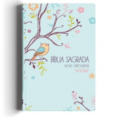 BIBLIA NVI LETRA GIG CP ESPECIAL C/LATERAL ARTISTICA - UM TEMPO ESPECIAL COM DEUS