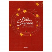 BIBLIA NVI NOVA ORTOGRAFIA CP BROCHURA - VERMELHA