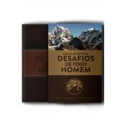 BIBLIA NVT DE ESTUDO DESAFIOS DE TODO HOMEM - MARROM