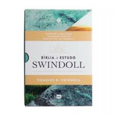BIBLIA NVT DE ESTUDO SWINDOLL - VERDE