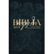 BIBLIA NVT LG CP DURA - EDEN AZUL