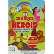 BIBLIA OS GRANDES HEROIS HISTORIA BIBLICA PARA BEBES