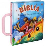 BIBLIA PRIMEIROS PASSOS COM JESUS - ALCA ROSA