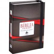 BIBLIA RA C/ELASTICO CADERNO ANOTACOES CP DURA - TRADICIONAL