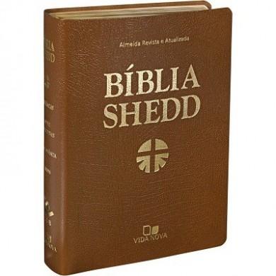 BIBLIA RA DE ESTUDO SHEDD CP FLEX - MARROM