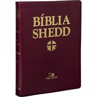 BIBLIA RA DE ESTUDO SHEDD CP FLEX - VINHO