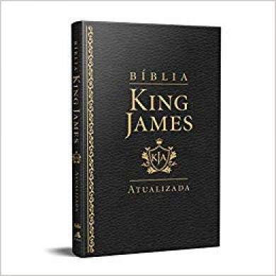 BIBLIA RA KING JAMES SLIM - PRETA