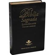 BIBLIA RA LETRA GIG S/INDICE NOTAS E REFERENCIAS - PRETA