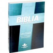 BIBLIA RA LETRA GRANDE CP BROCHURA - CRUZ