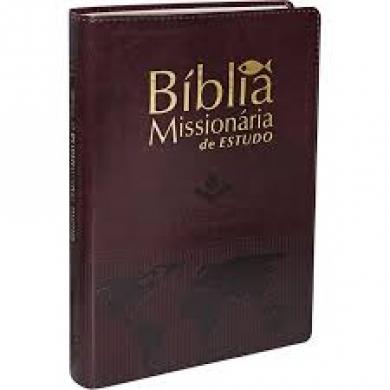 BIBLIA RA MISSIONARIA DE ESTUDO CP SINT - MARROM