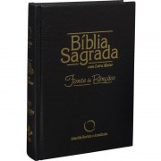 BIBLIA RA SAGRADA FONTE DE BENCAO CP DURA - PRETA