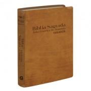 BIBLIA RC C/MAPA LETRA GIG  CP ESPECIAL - CARAMELO
