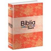 BIBLIA RC COLORIDA JOVEM CP BROCHURA - PRIMAVERA