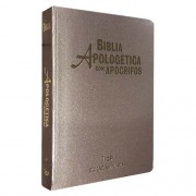 BIBLIA RC DE ESTUDO APOLOGETICA CP LUXO - CHAMPANHE