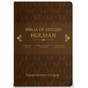 BIBLIA RC DE ESTUDO HOLMAN - MARROM