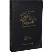 BIBLIA RC LETRA GIG C/LETRAS VERMELHAS NOTAS E REF C/IND - PRETA