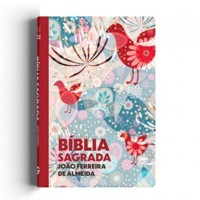 BIBLIA RC LETRA GRANDE CP ESPECIAL C/LATERAL ARTISTICA - PASSAROS