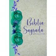 BIBLIA RC SAGRADA C/MAPA LETRA GIG CP ESPECIAL - RECICLATO FLORAL