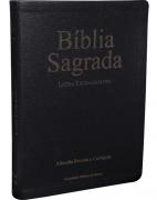 BIBLIA RC SAGRADA LETRA EXTRA GIG C/INDICE  - PRETA