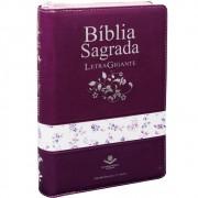 BIBLIA RC SAGRADA LETRA GIG C/INDICE DIG E ZIPER - UVA