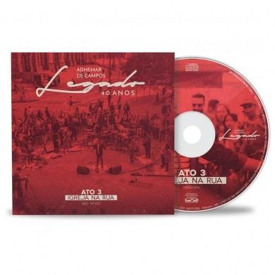 CD ADHEMAR DE CAMPOS LEGADO 40 ANOS ATO III IGREJA RUA