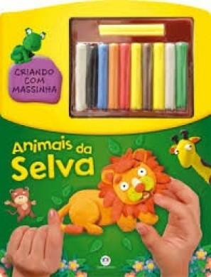 CRIANDO COM MASSINHA - ANIMAIS DA SELVA CIRANDA CULTURAL