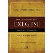FUNDAMENTOS PARA EXEGESE DO AT - CARLOS OSVALDO CARDOSO