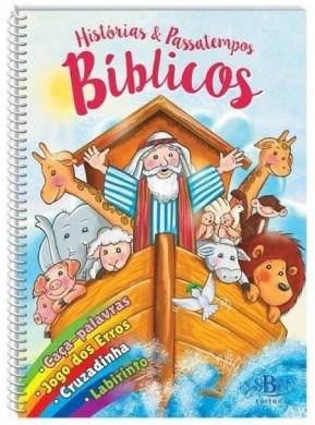 HISTORIAS E PASSATEMPOS BIBLICOS - TODOLIVRO