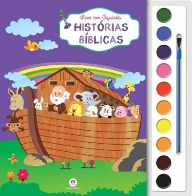 LIVRO AQUARELA HISTORIAS DA BIBLIA