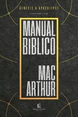 MANUAL BIBLICO MACARTHUR - JOHN MACARTHUR
