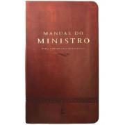 MANUAL DO MINISTRO CP LUXO - MARROM