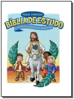 MINHA PRIMEIRA BIBLIA DE ESTUDOS - THOMAS NELSON