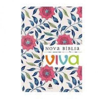 NOVA BIBLIA VIVA BROCHURA - FLORAL
