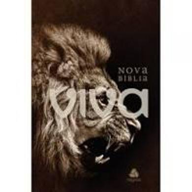 NOVA BIBLIA VIVA CP DURA - RUGIDO
