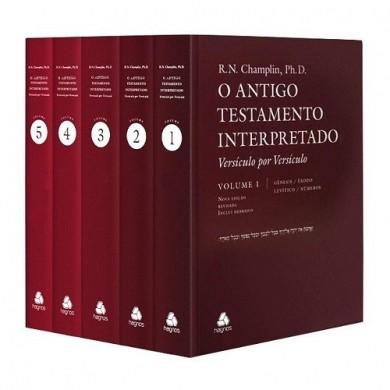 O ANTIGO TESTAMENTO INTERPRETADO - R N CHAMPLIN